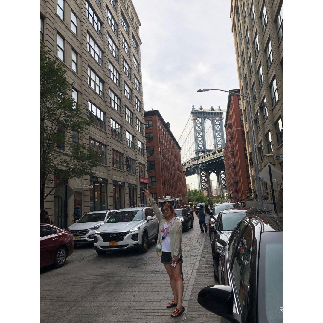 打卡布鲁克林大桥