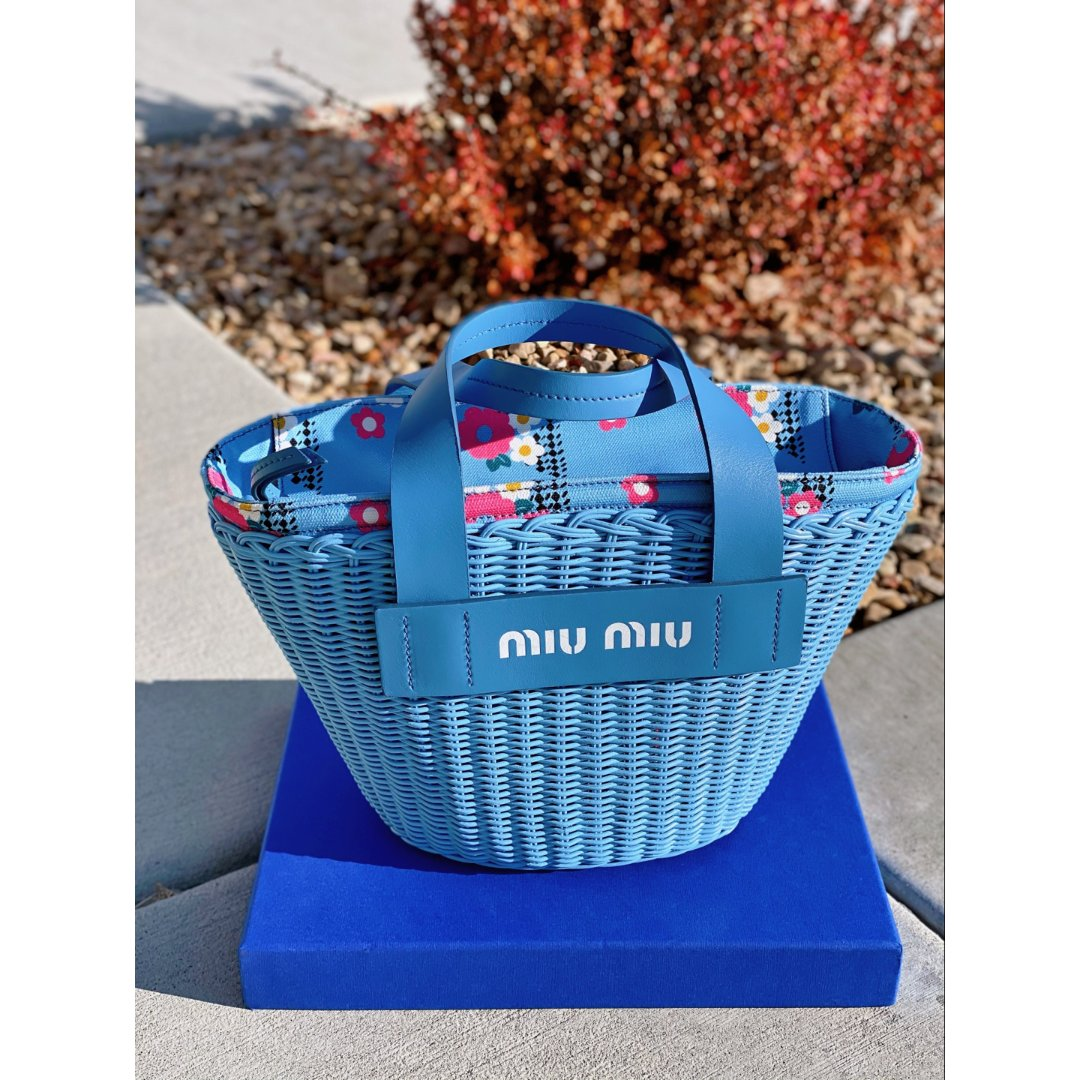 Miu Miu竹篮包