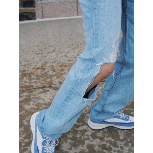 春日穿搭 / 今年喜欢的直筒堆堆牛仔裤