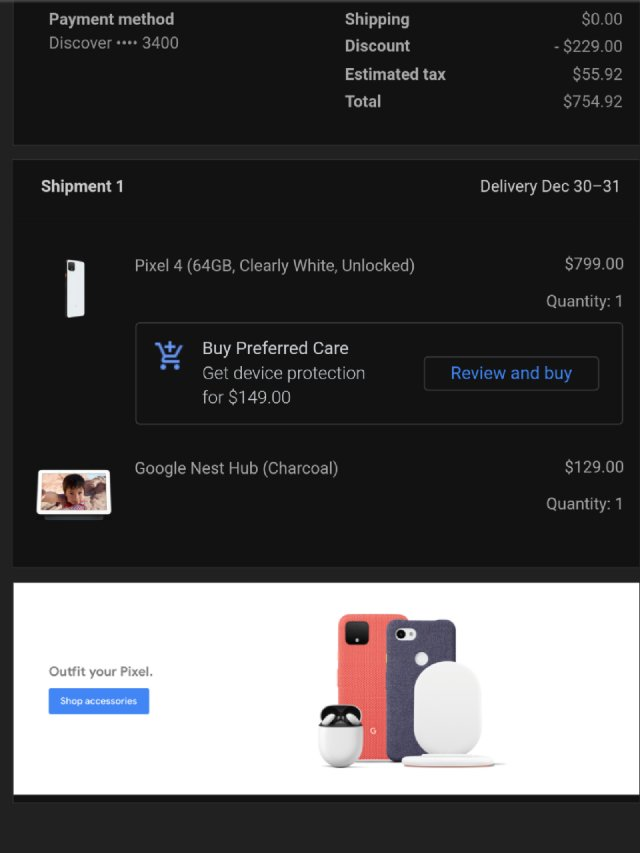 Google买手机,减价还送东西?