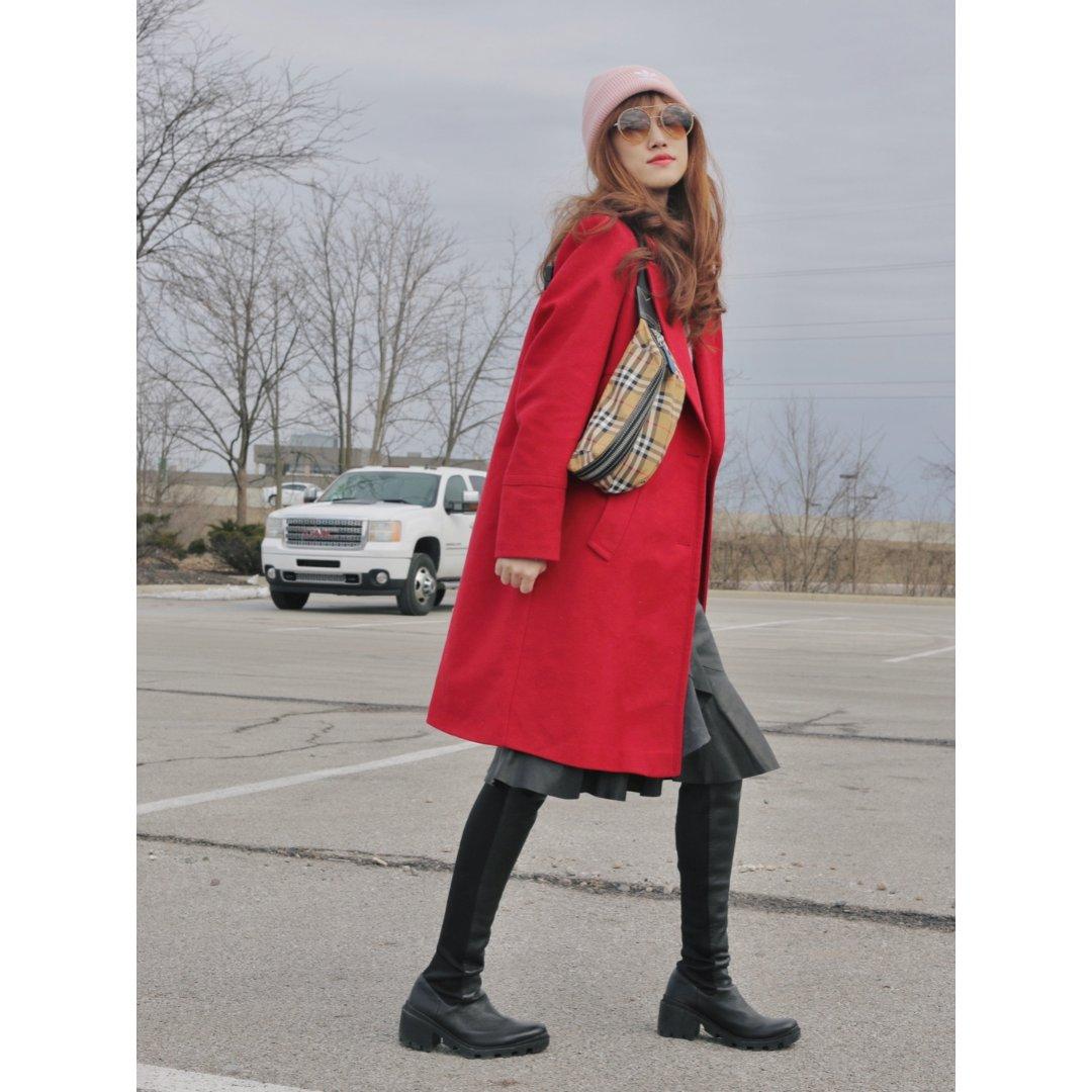 🧥大衣穿出街头范儿|配饰转变风格