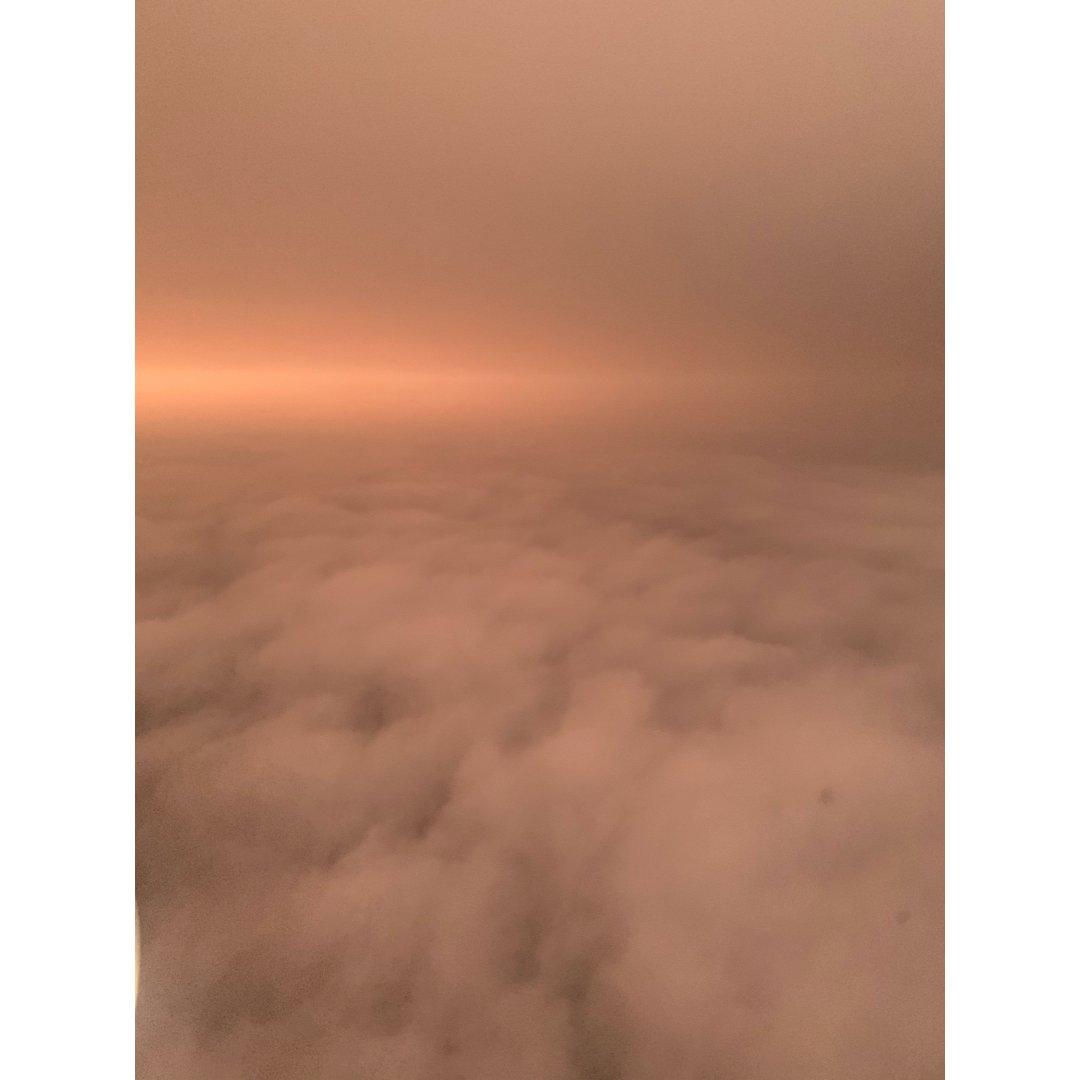飞机上的航拍