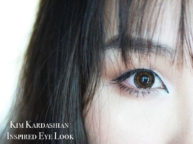 「妆容」Kim Kardashia...