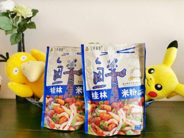 速食测评之一般般的三养易食桂林米粉...