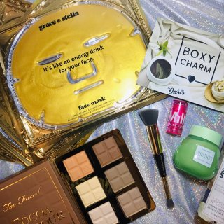 Boxycharm,Glow Recipe,SKIN&CO,Milk Makeup,Billion Dollar Brows,grace & stella