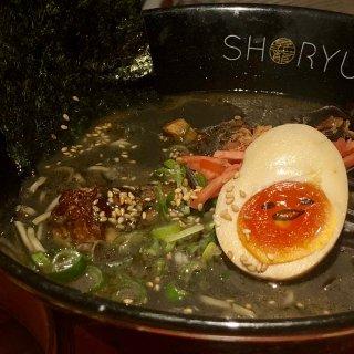 伦敦美食|伦敦超好吃拉面馆Shoryu...