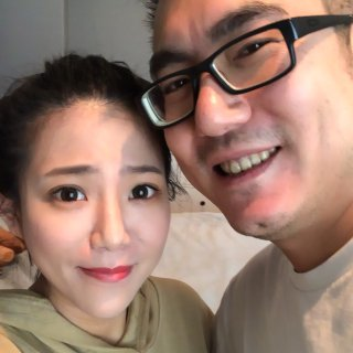 七夕秀一波,老公给我化妆~~...