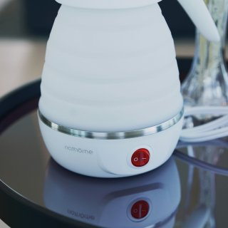 Nathome|食品级硅胶材质、可折叠热水壶