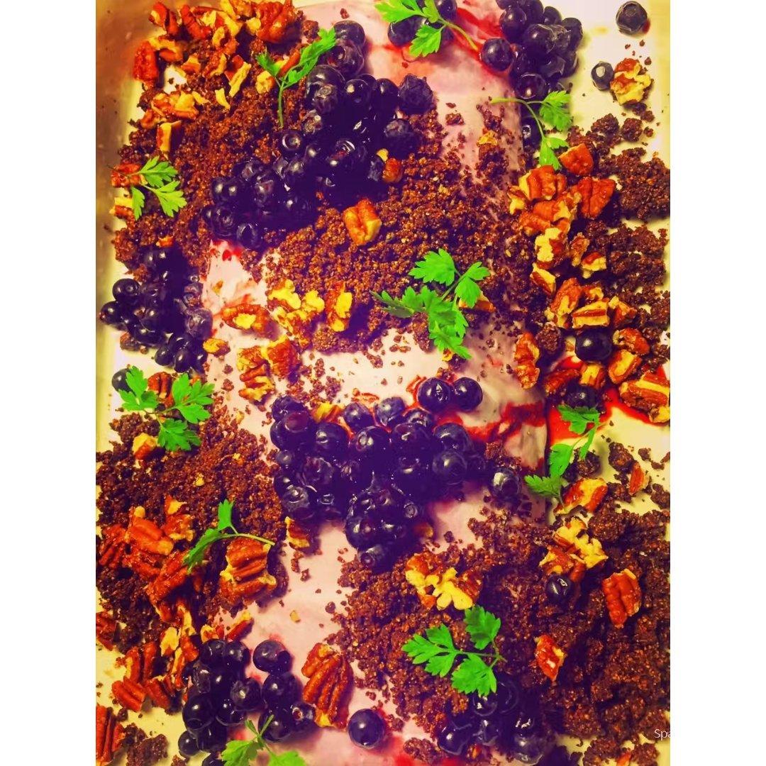 厨房时间🕧DIY蓝莓派和蓝莓雪糕...