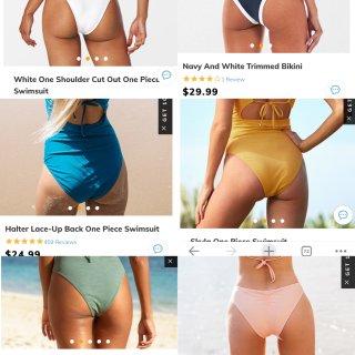 Cupshe 兼容各种身材的泳衣 矮胖m...