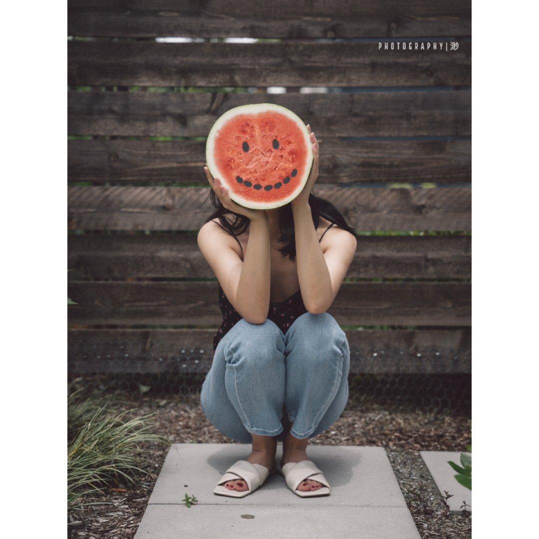 摆摊卖快乐 | 西瓜是生活里的那点甜🍉