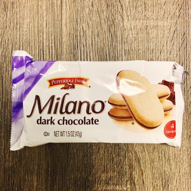零食吃什么🤩Milano巧克力饼干🥳