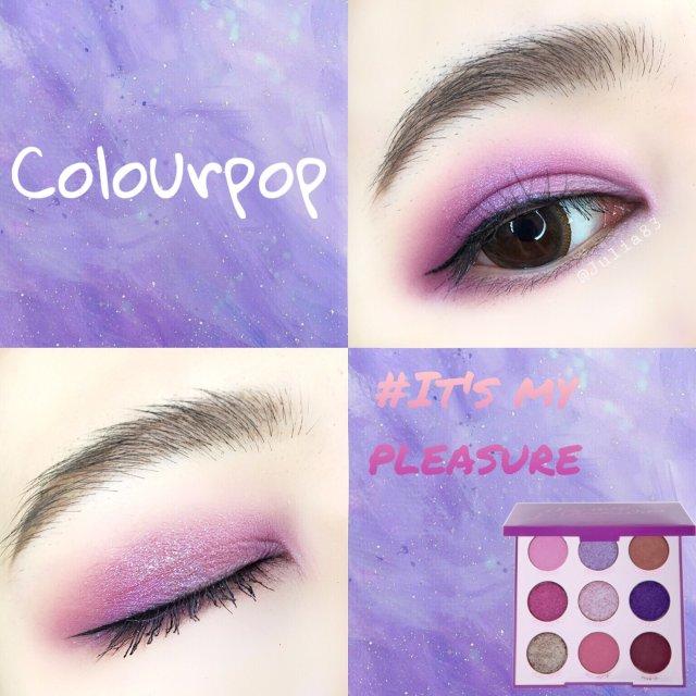 眼妆|CP九宫格盘 超A梦幻电光紫...