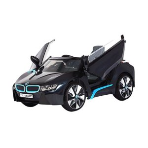 $143.53 (原价$264.69) 史低价Rollplay 宝马BMW i8 6伏电动玩具车,黑色