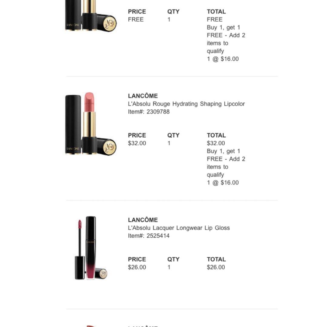 Ulta lip day部分产品买...