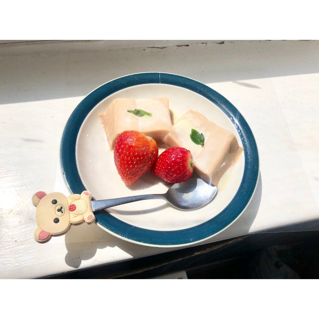 奶香茶味浓~~~滑滑嫩嫩的奶茶布丁🍮~~...