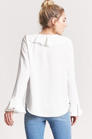 Cascading Ruffle Top | Forever 21