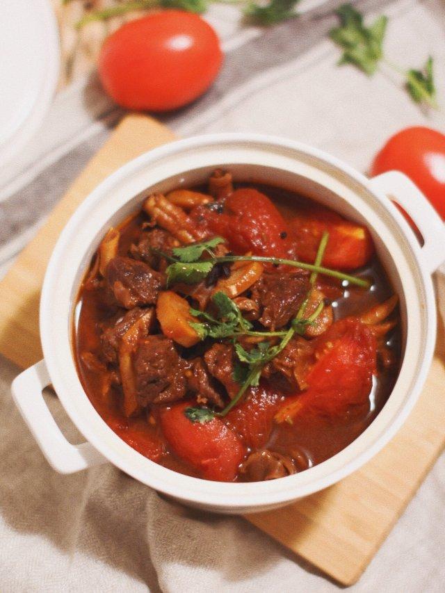 超级下饭菜 | 番茄牛腩煲