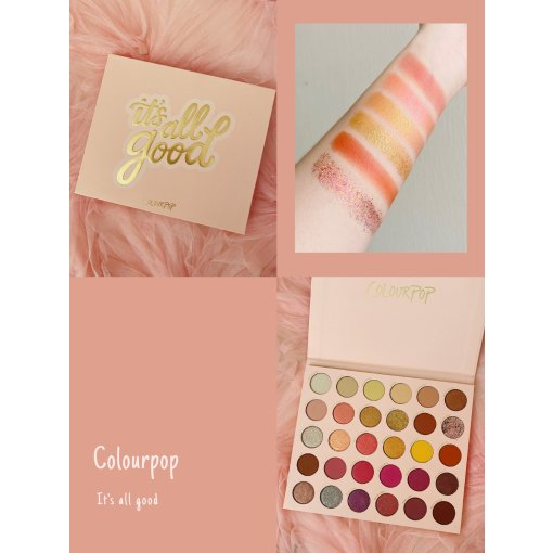 Colourpop新品it's all good试色