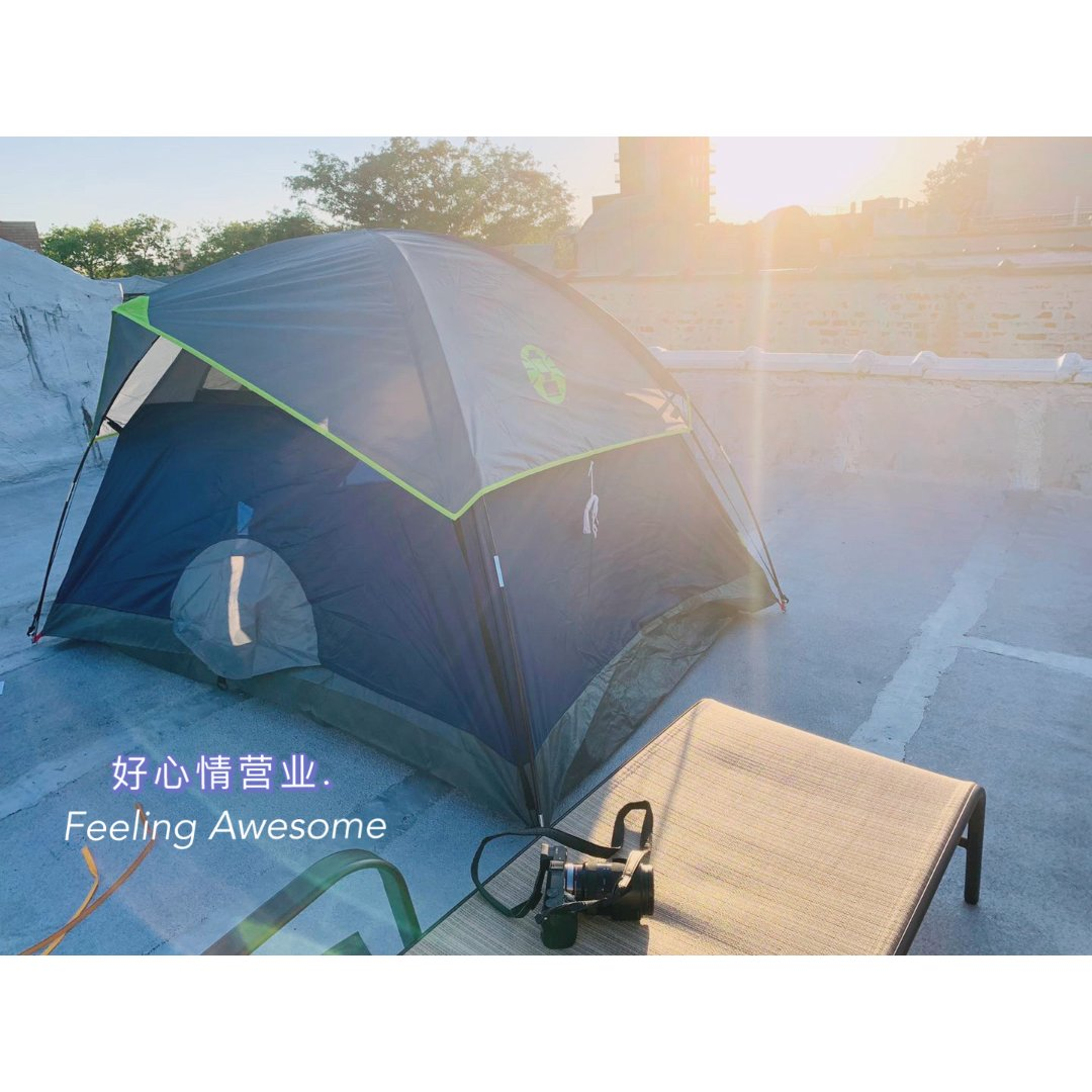 一起去野营|帐篷驾到