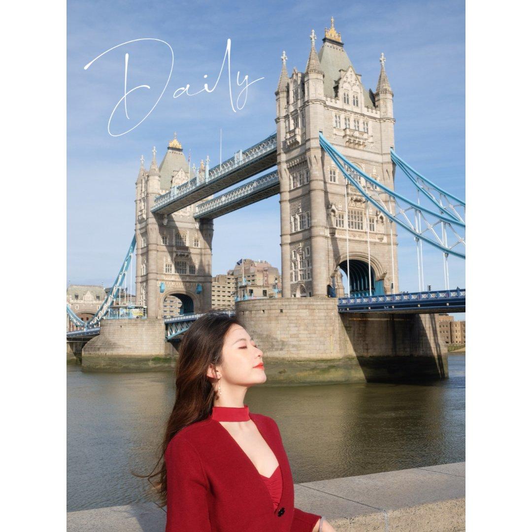 伦敦 | 天晴气朗☕️...