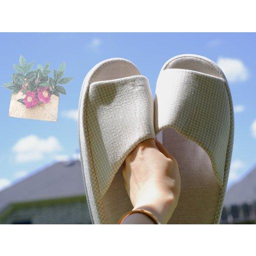 【众测】👉网易严选|舒适感满分●棉麻拖鞋