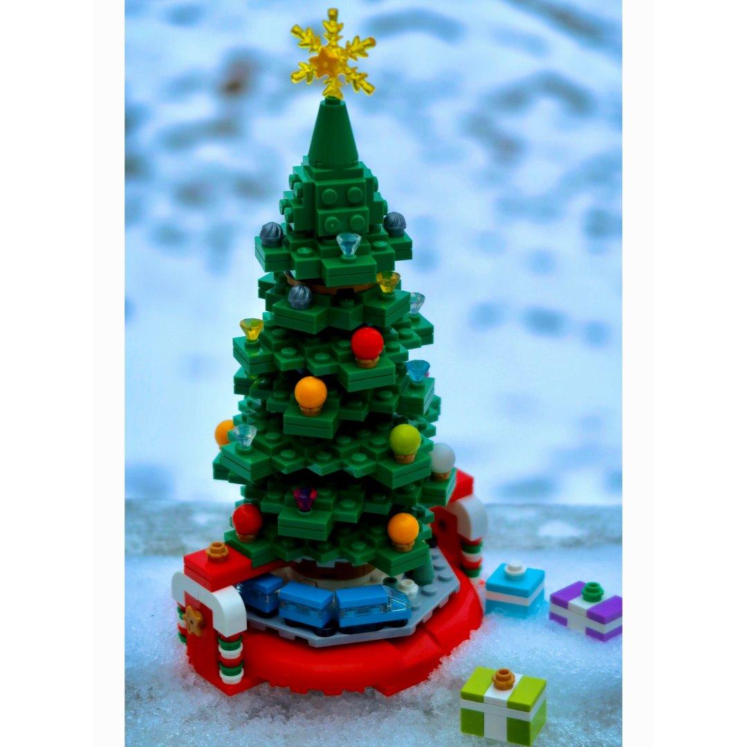 乐高|细节满分💯不要钱的圣诞树🎄