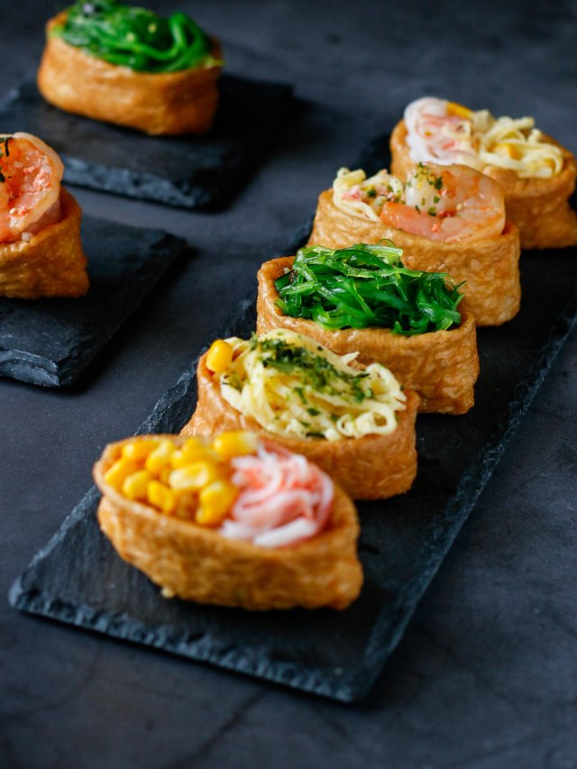 Inari Sushi 稻荷寿司DIY