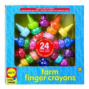 $6 ALEX Toys Little Hands Farm Finger Crayons