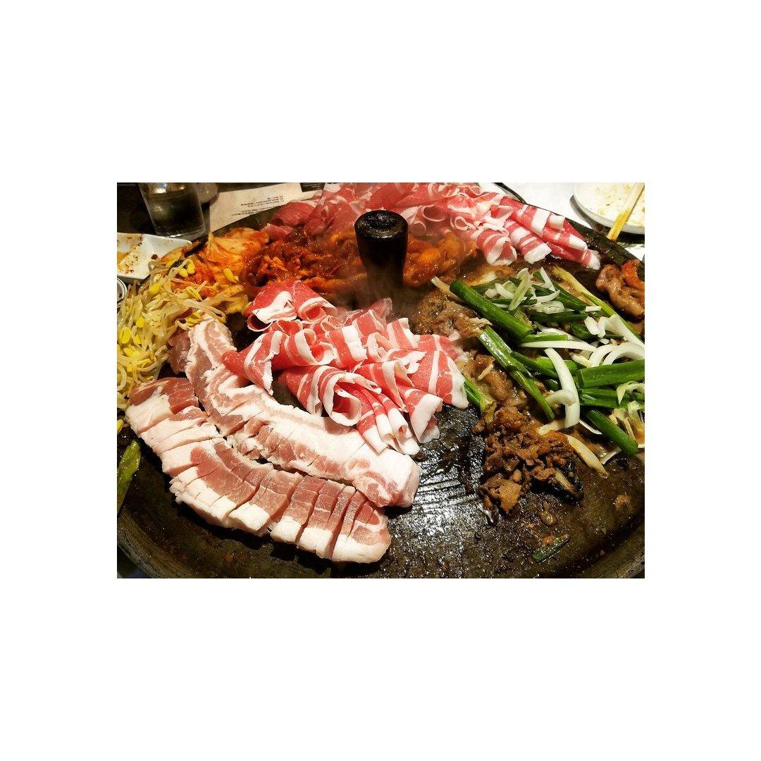 爆爆爆赞的韩国铁板烤肉自助大推荐!!