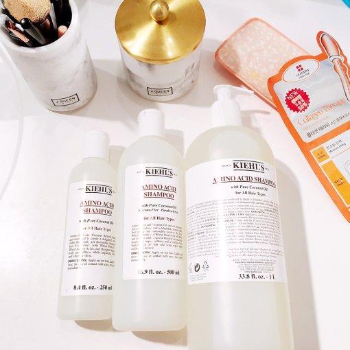 让Kiehl's氨基椰油洗发水拯救你的脱发掉发问题吧!