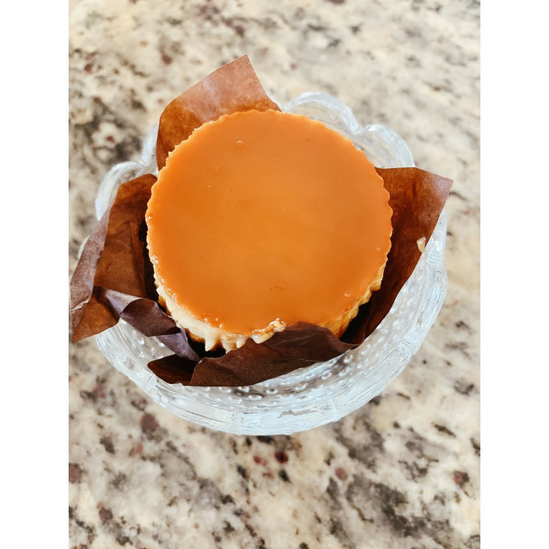 Ube 牛奶布丁🍮 cupcake