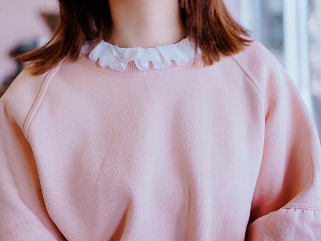 假领子为你的毛衣/卫衣增添柔美感