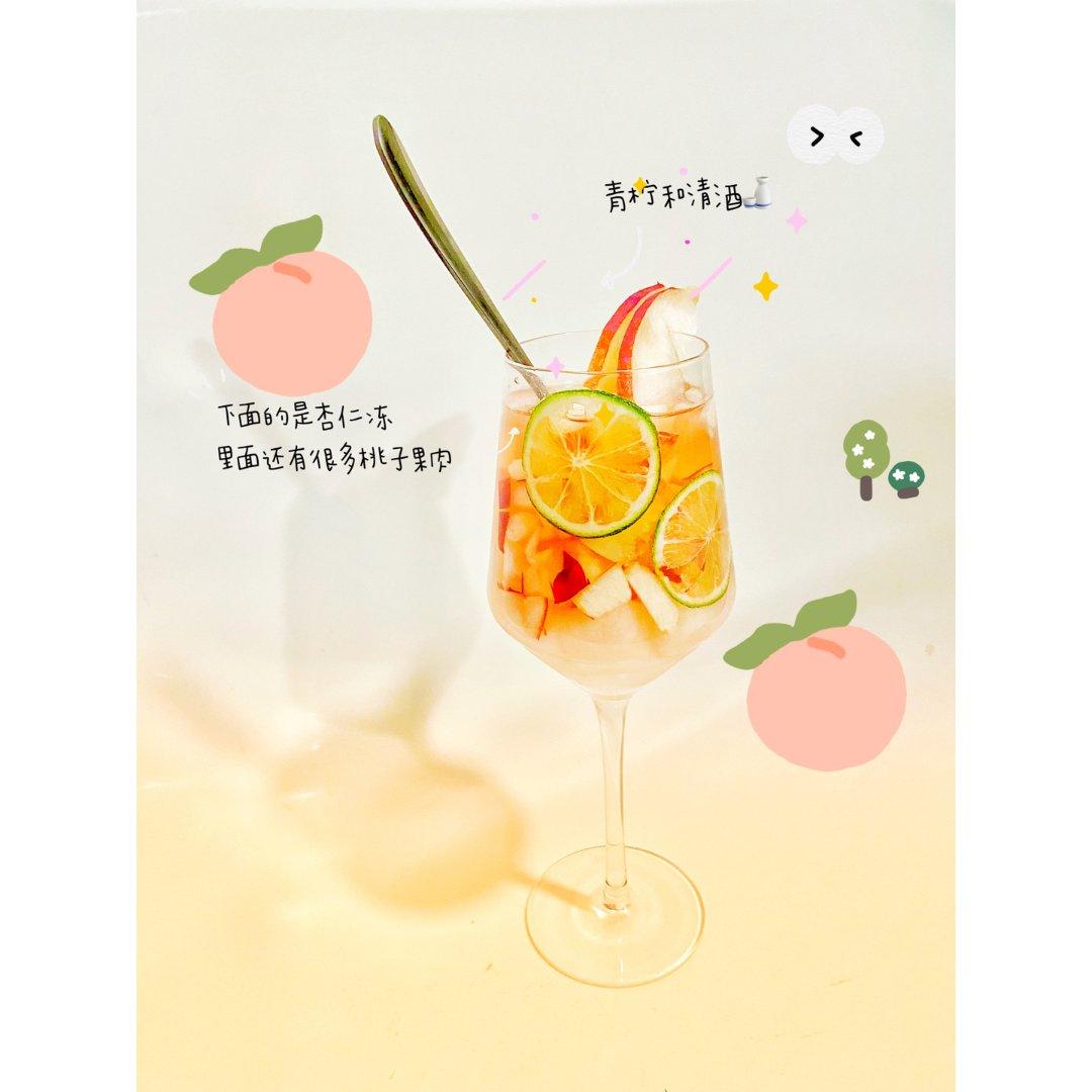变着花样吃水果 | 桃桃清酒mojito