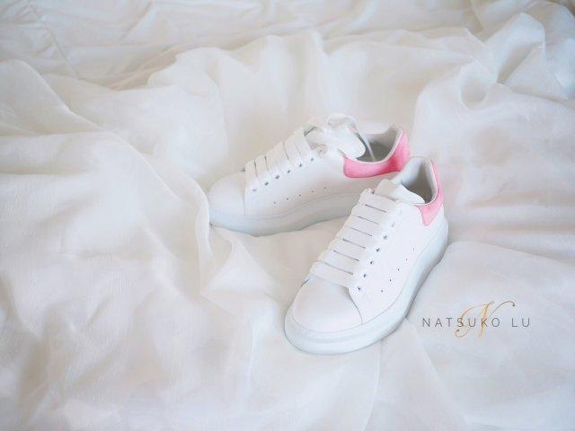 增高2公分不是梦:麦昆小白鞋