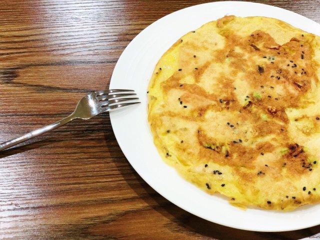 晚餐小饭桌之超级快手的鸡蛋煎豆腐