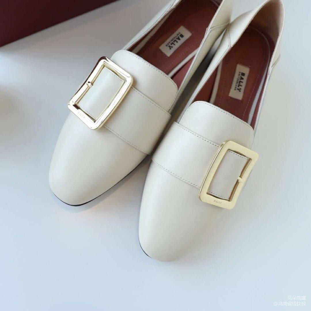 Bally方扣乐福鞋