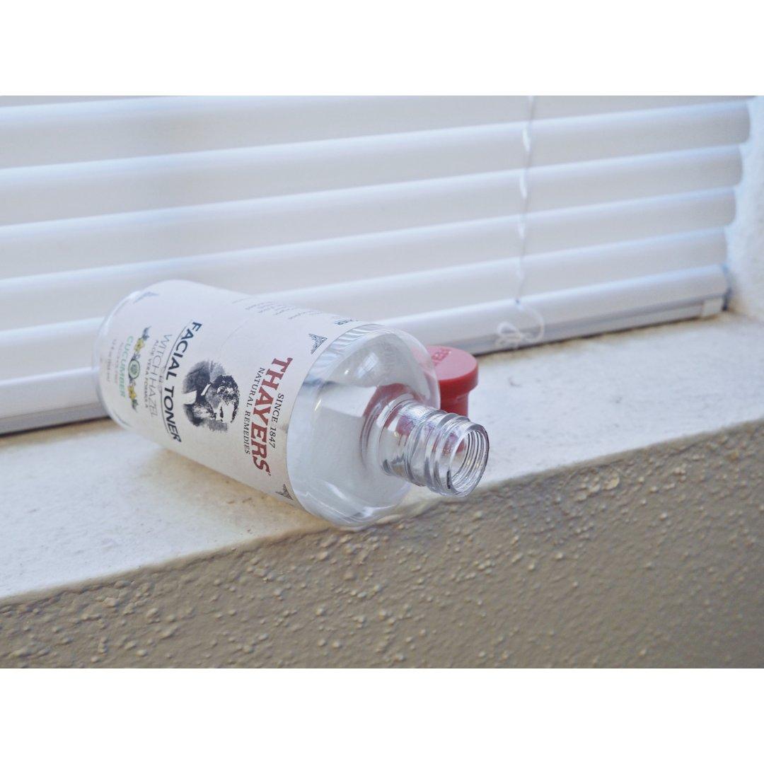 吃空一瓶thayers黄瓜水