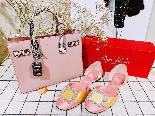包包鞋子一个色打卡3 粉色