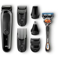 Braun MGK3060 胡须修剪器、吉列剃须刀组合