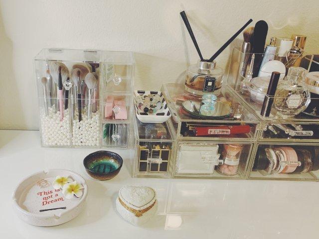 解密我的化妆桌收纳 🗝