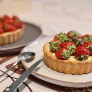 🍓DIY草莓挞▫️下午茶时光✨...