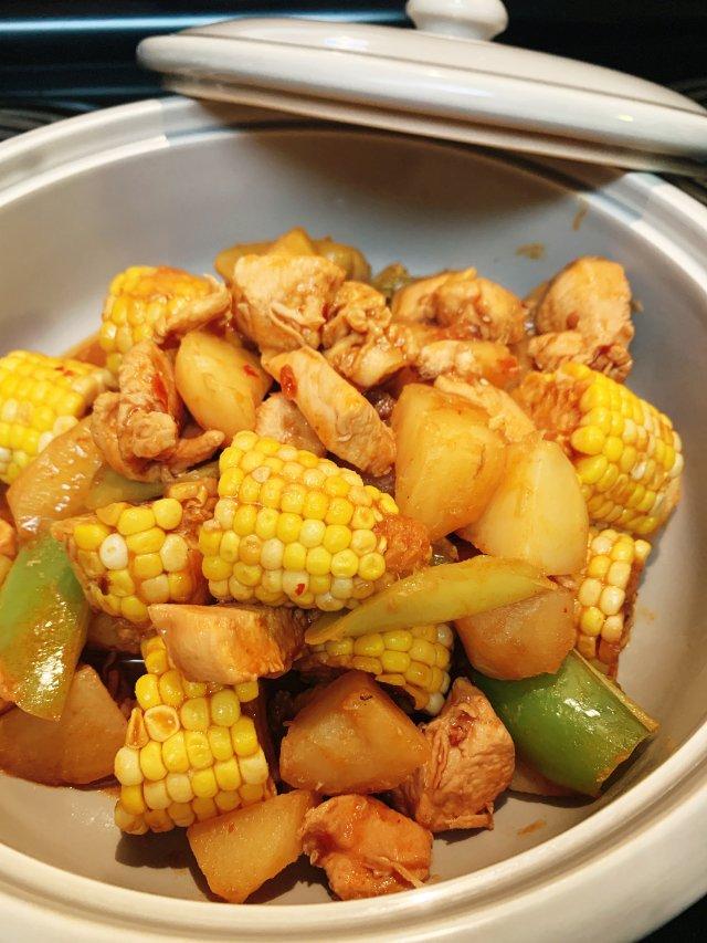 鼠年菜单🐭大盘鸡🌽