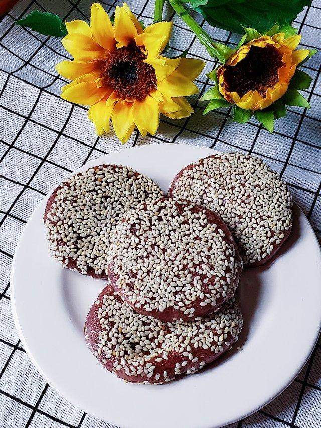 一日三餐吃什么之---芝士夹心紫薯饼