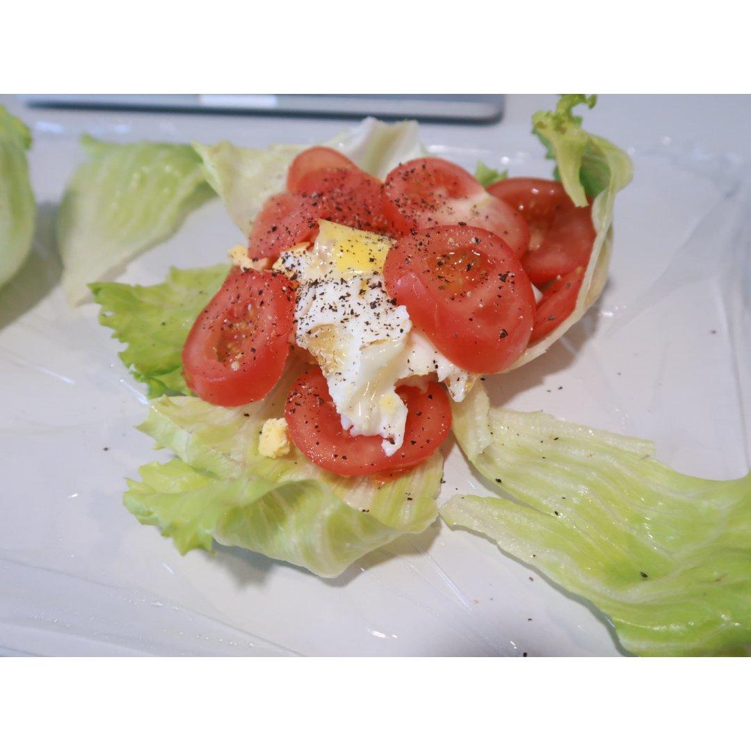 无肉版蔬菜三明治...