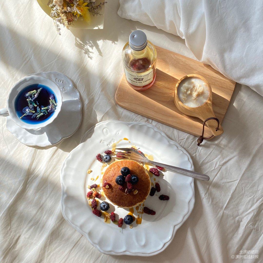 在阳光里懒散的吃个早餐|自制早餐