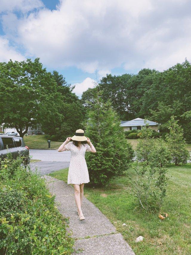 夏日田园小裙子 | 挖掘衣橱旧衣新穿