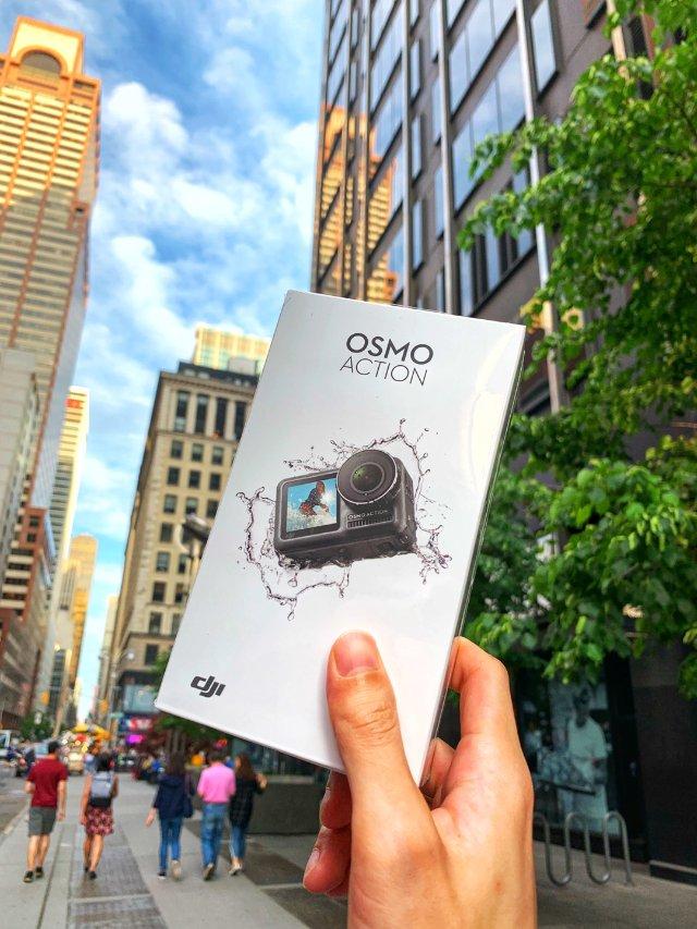 刚刚发布的Dji运动相机osmo ...
