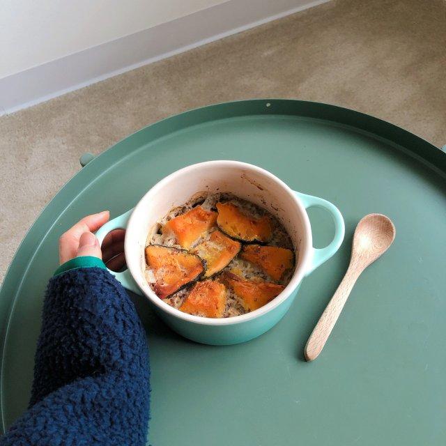 冬日早餐|感恩节🥣|南瓜烤燕麦布丁🎃