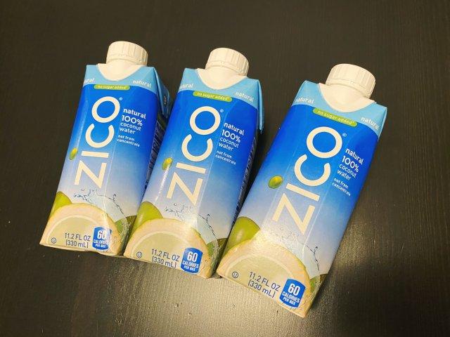 最好喝的椰子水ZICO